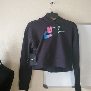 Nike Top Crop Girls Sweater Size XL